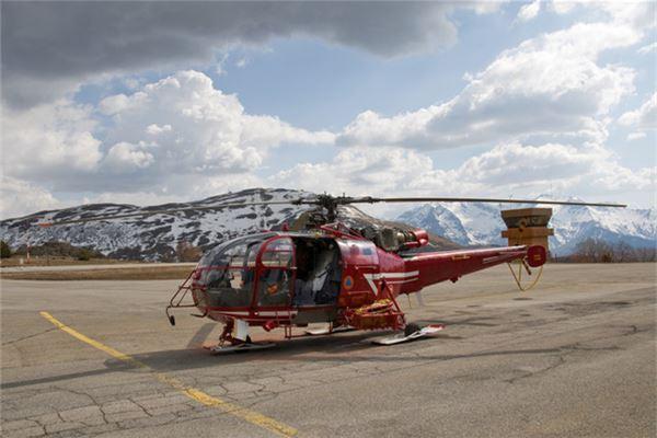 Traumdeutung der Hubschrauberlandung