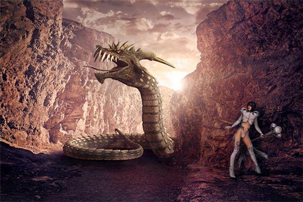 Traumdeutung und Wahrsagerei des roten Drachen