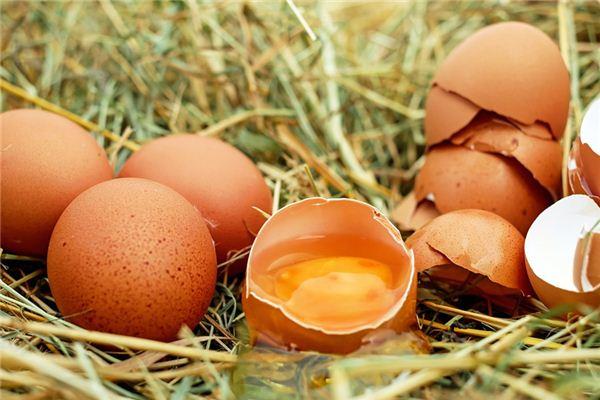 Traumdeutung und Weissagung von schlechten Eiern