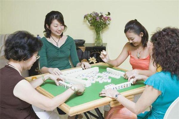Traumdeutung von Mahjong