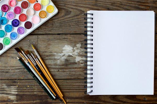 Traumdeutung und Wahrsagerei auf weißem Papier
