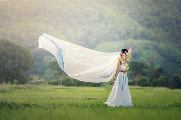 Traumdeutung von Kleid