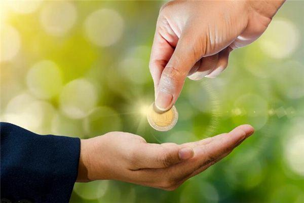 Traumdeutung von anderen Leuten, die mir Geld geben